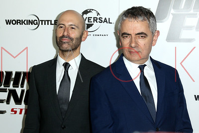 NEW YORK, NY - OCTOBER 23:   The 'Johnny English Strikes Again' New York Screening at AMC Lincoln Square Theater.