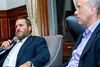 NEW YORK, NY - SEPTEMBER 26: Rabbi Shmuley Boteach in conversation with Peter Beinart and Elisha Wiesel at The World Values Network on September 26, 2018 in New York, New York. (Photo by Steve Mack/Getty Images for The World Values Network)