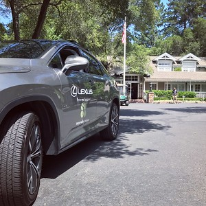 One of our Lexus Partner vehicles at Meadowood Napa Valley.  Photo by Tony Albright for Napa Valley Vintners