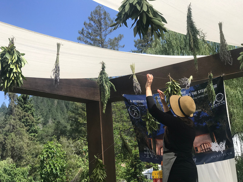 Vintner Members setting up at Meadowood Napa Valley for Auction Napa Valley 2018.  Photo by Tony Albright for Napa Valley Vintners