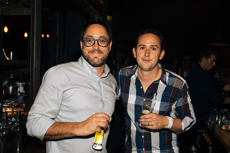 Chef Christopher Kostow and Nathaniel Dorn - The Charter Oak Auction After Party