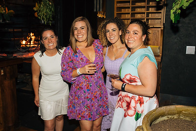 Alycia, Riana, Giovanna and Angelina Mondavi at The Charter Oak Auction After Party