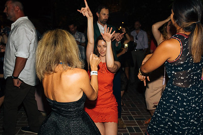 Dancing at The Charter Oak Auction After Party