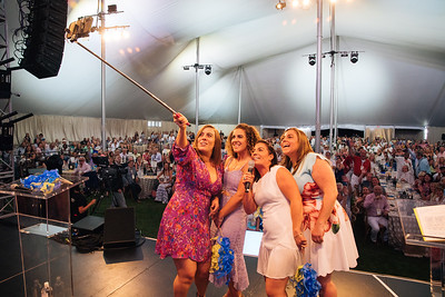 First ever Auction Napa Valley selfie taken by Riana, Giovanna, Alycia and Angelina Mondavi - Auction Napa Valley Live Celebration