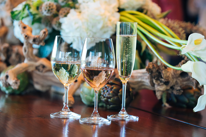 White wine, Rosé or bubbles...plenty of decisions to be made at Marciano Estate Vintner Hosted Dinner