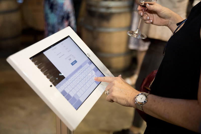 Feverish bidding at today's Auction Napa Valley Barrel Auction