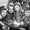 2018 Dec 23   Christmas cousins  Reagan, Cate, Ava, and Pete