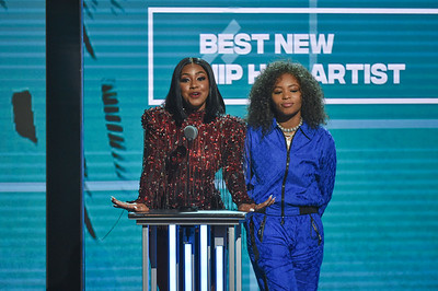 MIAMI, FL - October 6:  BET  Hip Hop Awards at Fillmore Miami Beach on Saturday, October 6, 2018, in Miami, FL, USA. (Photo by: Aaron J. / RedCarpetImages.net)
