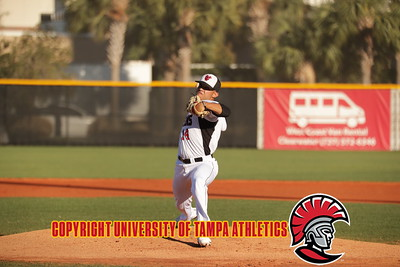 3/16/2018; Tampa, Fla.; University of Tampa baseball vs. St. Leo University.