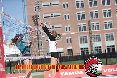 3/13/2018; Tampa, Fla.; University of Tampa beach volleyball vs. Eckerd College.