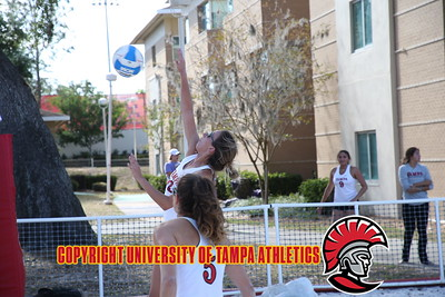 3/27/2018; Lakeland, Fla.; Florida Southern College beach volleyball vs. University of Tampa.