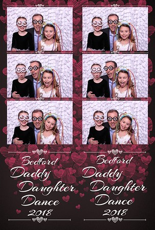 2018 Bedford March Daddy Daughter Dance