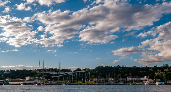 Mackinac Island Harbor, MI