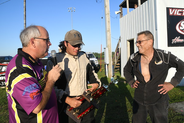 2018 Benton County Speedway, July 8 Dvorak wins