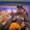 Attendees of Charlotte Business Journal's 2018 Best Places to Work Awards network, enjoy food and the Top Golf Driving Range during a ceremony at Top Golf in Charlotte, NC.