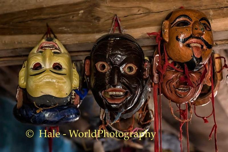 Masks in Storeroom