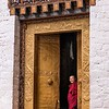 Punakha Dzong Ornate Door