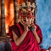 The Eye Behind the Mask - Ngatshang Monastery