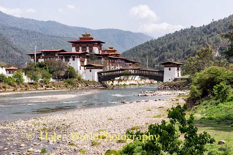 The Bridge Over the River Mo Chhu