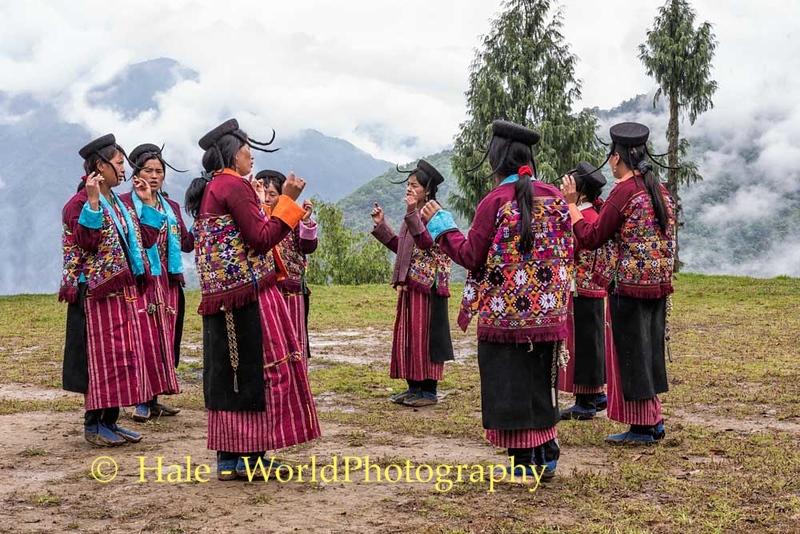 Brokpa Women Singing and Dancing