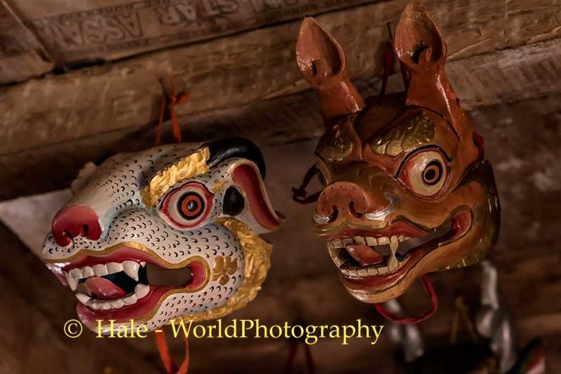 Ngatshang Monastery Cham Masks