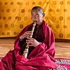 Young Buddhist Gyaling Musician