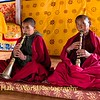 Young Monks Playing Gyalings
