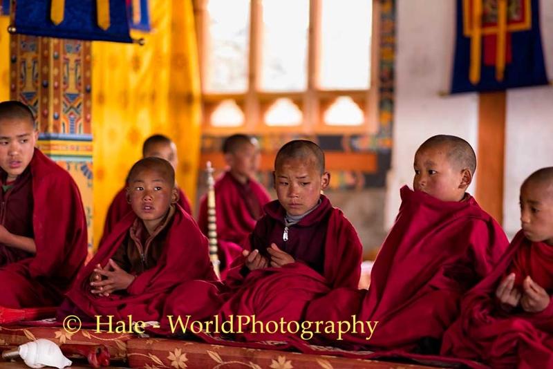 Young Monks At Khewang Lhakhang