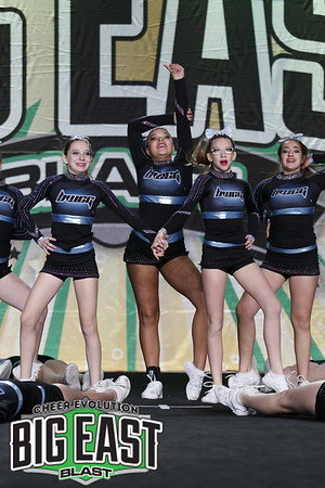 Black Widow Cheer Gym Lime Junior Prep 1
