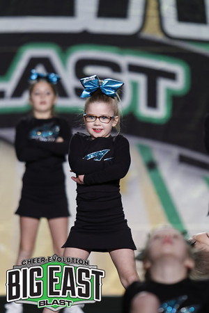 Cheer Sport Dusky Sharks Mini Prep 1
