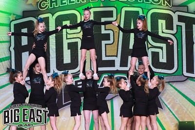 Cheer Sport Tiger Sharks Junior Prep 1