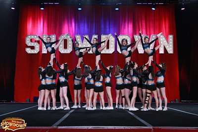 Black Widow Cheer Gym Freeze Senior Medium 2
