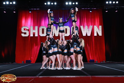 Black Widow Cheer Gym Passion Senior Small 4.2