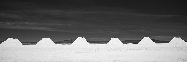 Salar de Uyuni also contains the world's largest deposit of lithium. Test mines are being explored to satisfy the world's thirst for batteries.