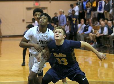 2018 Boys Basketball Bullis 59 Landon 48