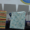 "Sharon Wexler said she bought a kit from Quilter's Garden during their Going out of business sale.  it will be donated to Sparrow Hospice.  The quilt on the right was made as a project for Scrap Fever Group as part of that group's  ""year of giving part two"" project."