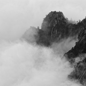 HUANGSHAN, YELLOW MOUNTAIN-3992TB