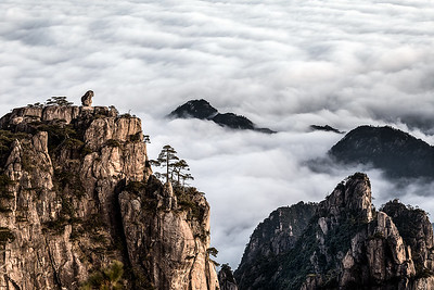 HUANGSHAN, YELLOW MOUNTAIN-3966