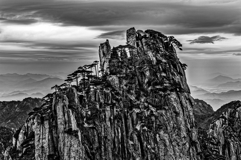 HUANGSHAN, YELLOW MOUNTAIN-42697BWTB