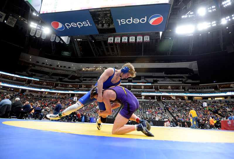 State Wrestling Day 1
