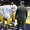 Johnson C Smith Pre-Game Warm-up