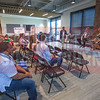 Red Maxwell, Chief Marketing Officer at AvidXchange, moderates the panel at the CMO Unplugged event at AvidXchange.