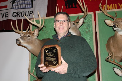 Charles Pritchard - Oneida Daily Dispatch CNY Sportsman of the Year Michael Quinn was surprised to learn he won he award this year and was nominated for his work as model for anyone concerned with the stewardship of the environment on Feb. 3, 2018