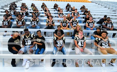 2018 Camden High Football Senior Moms