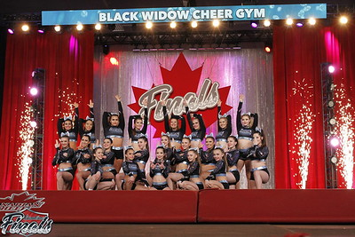 Black Widow Cheer Gym Passion Sr Sm Comb 4.2