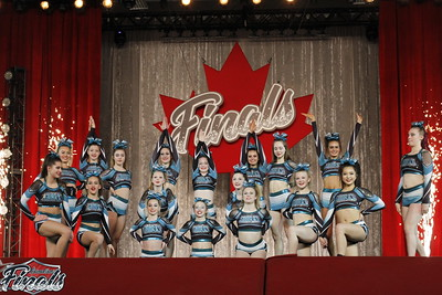 Cheer Sport Blue Sharks Senior Small 4