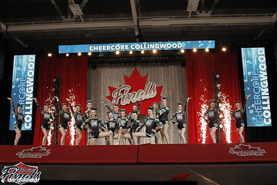 CheerCore Collingwood Gold Senior Sm 4