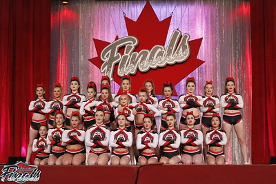 Flames All Stars Outblast Senior Sm 3