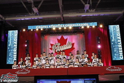 Pirates Athletics Cheerleading Silver Sword Sr Med 3