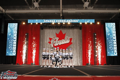 Sparks Cheerleading Big Boom Yth X-Sm 2